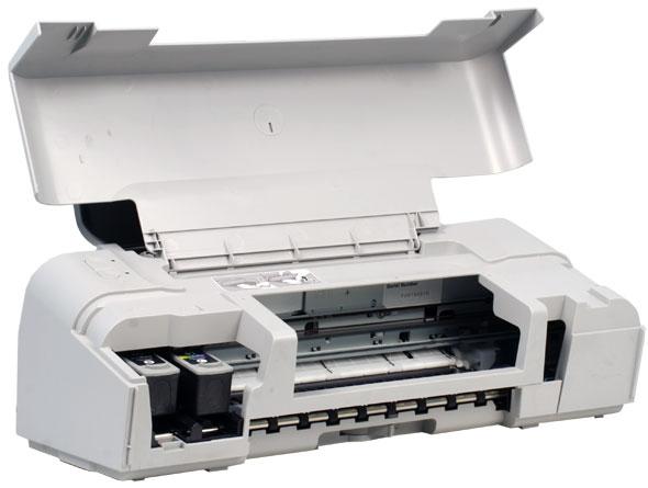 Снять картридж принтера Canon